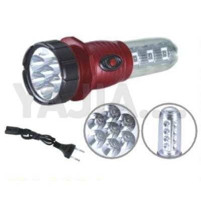YAJIA_good_design_led_rechargeable_flashlight_7